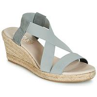 Schuhe Damen Sandalen / Sandaletten Casual Attitude JALAYEBE Grau