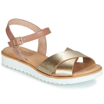 Schuhe Damen Sandalen / Sandaletten Casual Attitude JALAYEDE Rose / Gold