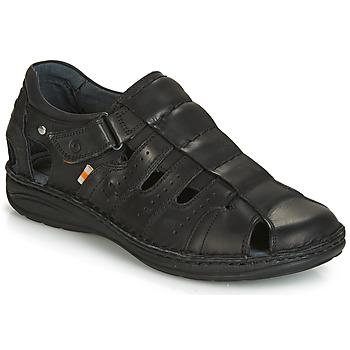Schuhe Herren Sandalen / Sandaletten Casual Attitude ZIRONDEL Schwarz