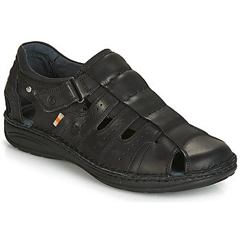 Schuhe Herren Sandalen / Sandaletten Casual Attitude JALAYIME Schwarz