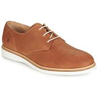 Schuhe Herren Derby-Schuhe Casual Attitude JALAYIME Cognac