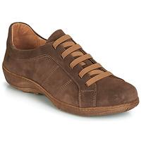 Schuhe Herren Derby-Schuhe Casual Attitude JALIYAFE Braun