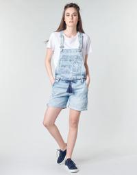 Kleidung Damen Overalls / Latzhosen Pepe jeans ABBY Blau