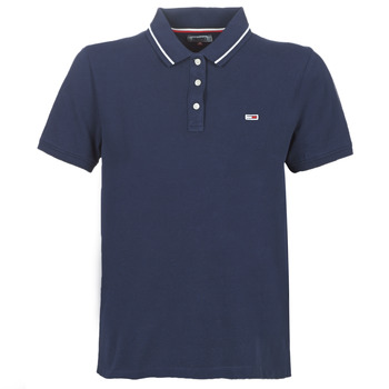 Kleidung Damen Polohemden Tommy Jeans TJW TOMMY CLASSICS POLO Marine
