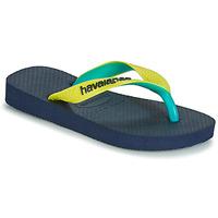 Schuhe Zehensandalen Havaianas TOP MIX Gelb / Navy