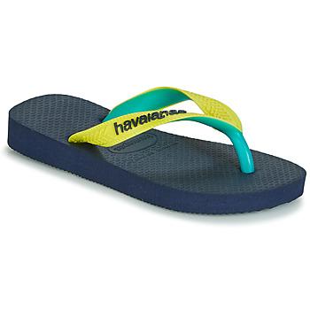 Schuhe Zehensandalen Havaianas TOP MIX Gelb