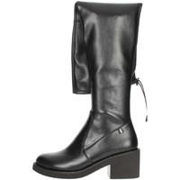 Schuhe Damen Kniestiefel Braccialini TA116 Schwarz