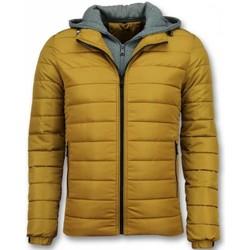 Kleidung Herren Daunenjacken Enos Jacken Winterjacke E Jacke Gelb