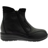 Schuhe Damen Ankle Boots Calzaturificio Loren LOM2755ne nero