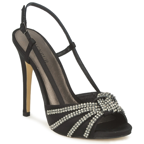 Menbur ACER Schwarz Schuhe Sandalen / Sandaletten Damen 74
