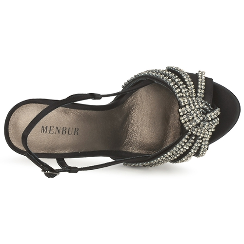 Menbur ACER Schwarz  Schuhe Sandalen / Sandaletten Damen 148
