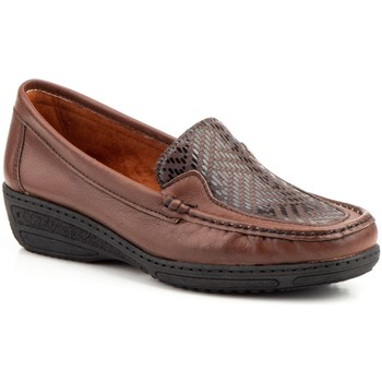 Schuhe Damen Slipper Antonella  Marron