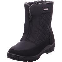 Schuhe Damen Schneestiefel Stiefelette - 892613 schwarz