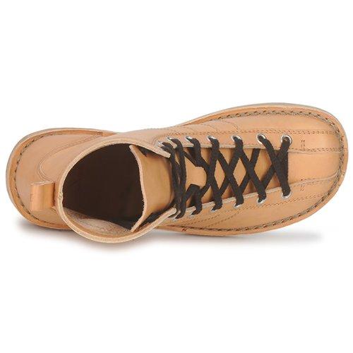Swedish hasbeens VINTAGE BOWLING Stiefel Beige Beige Beige  Schuhe Stiefel Damen 325be3