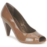 Schuhe Damen Pumps Espace LEON Braun