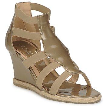 Schuhe Damen Sandalen / Sandaletten Amalfi by Rangoni LEMA Maulwurf
