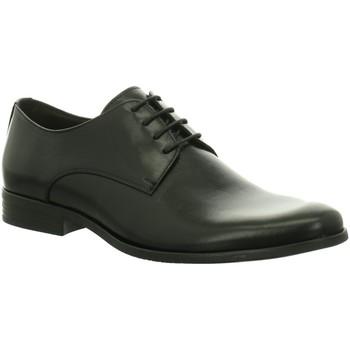 Schuhe Herren Richelieu Nicolabenson Business Schnürschuh 7750A-1 schwarz
