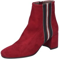 Schuhe Damen Low Boots Maripé Stiefeletten 27655-1689 rot