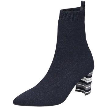 Schuhe Damen Low Boots Maripé Stiefeletten 27043-BLI/BLU blau