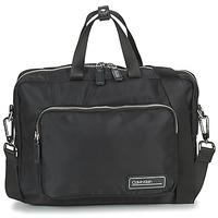 Taschen Herren Dokumententasche / Aktentasche Calvin Klein Jeans PRIMARY 1 GUSSET LAPTOP BAG Schwarz