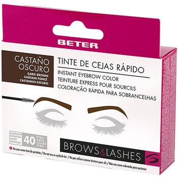 Beauty Damen Augenbrauenpflege Beter Brow Instant Tinte Cejas Rápido castaño Oscuro 1 u