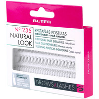 Beauty Damen Set Lidschatten  Beter Pestañas Postizas 235 Individuales Look Natural 1 u