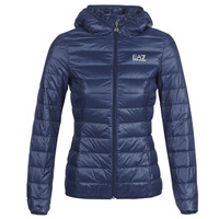 Kleidung Damen Daunenjacken Emporio Armani EA7 TRAIN CORE LADY LT DOWN JACKET Marine