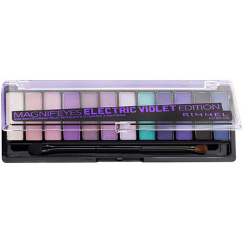 Beauty Damen Set Lidschatten  Rimmel London Magnif'Eyes Palette 008-electric Violet 1 u
