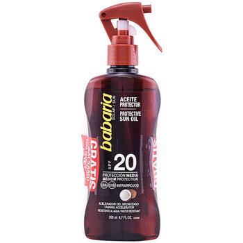 Beauty Sonnenschutz Babaria Solar Aceite Coco Spf20 Pistola Set 2 Pz 2 u