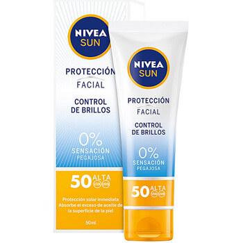 Beauty Sonnenschutz & Sonnenpflege Nivea Sun Facial Control De Brillos Spf50  50 ml