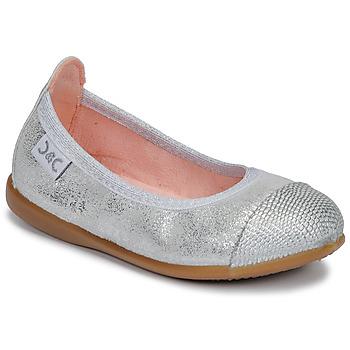 Schuhe Mädchen Ballerinas Citrouille et Compagnie JARAMIL Silbern