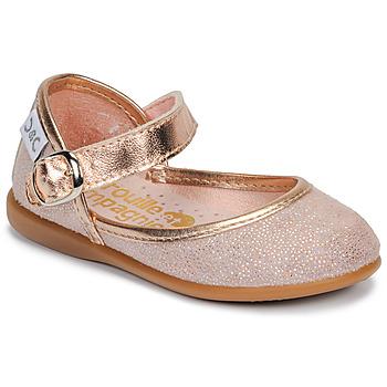 Schuhe Mädchen Ballerinas Citrouille et Compagnie JARITO Rose / Bronze