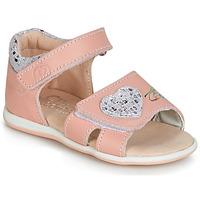 Schuhe Mädchen Sandalen / Sandaletten Citrouille et Compagnie JAFALGA Rose