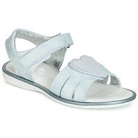 Schuhe Mädchen Sandalen / Sandaletten Citrouille et Compagnie JAFILOUTE Grau