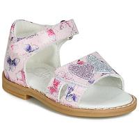 Schuhe Mädchen Sandalen / Sandaletten Citrouille et Compagnie JARILOUTE Rose
