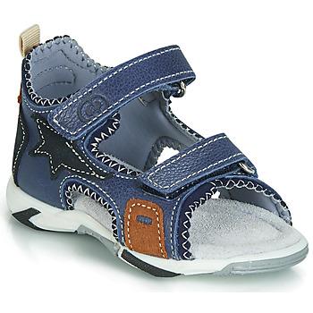Schuhe Jungen Sandalen / Sandaletten Citrouille et Compagnie JATILEME Blau