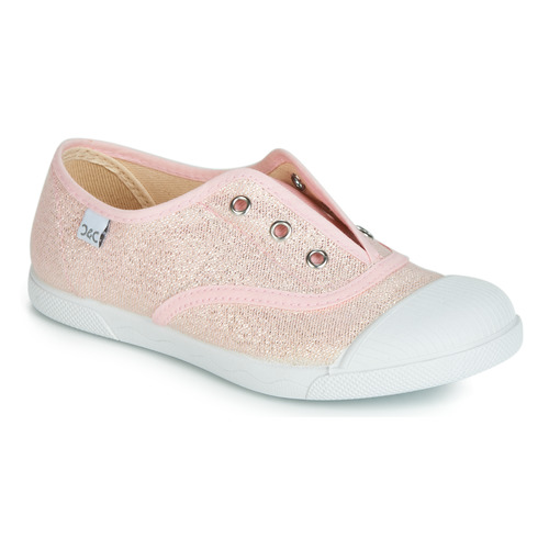 Schuhe Mädchen Sneaker Low Citrouille et Compagnie JANOLIRE Rose