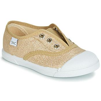 Schuhe Mädchen Sneaker Low Citrouille et Compagnie RIVIALELLE Gold