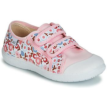 Schuhe Mädchen Sneaker Low Citrouille et Compagnie JORIPALE Rose / Rot