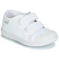 Schuhe Kinder Sneaker Low Citrouille et Compagnie JODIPADE Weiss