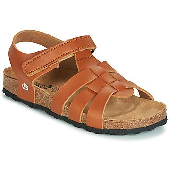 Schuhe Jungen Sandalen / Sandaletten Citrouille et Compagnie JANISOL Braun