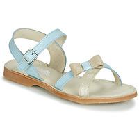 Schuhe Mädchen Sandalen / Sandaletten Citrouille et Compagnie JISCOTTE Blau
