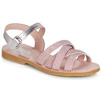 Schuhe Mädchen Sandalen / Sandaletten Citrouille et Compagnie JARDINA Rose