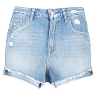 Kleidung Damen Shorts / Bermudas Replay PABLE Blau / 010