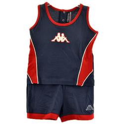 Kleidung Jungen Kleider & Outfits Kappa Komplette Sport Infant trainingsanzuege