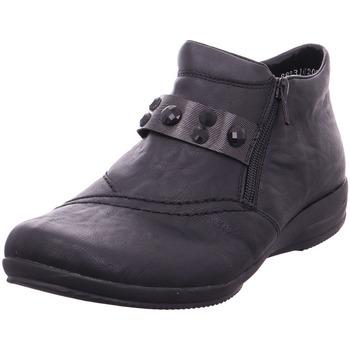 Schuhe Damen Stiefel Stiefelette - L3663-00 schwarz/anthrazit/schwa 00
