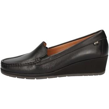 Schuhe Damen Slipper Valleverde 11402 BLACK