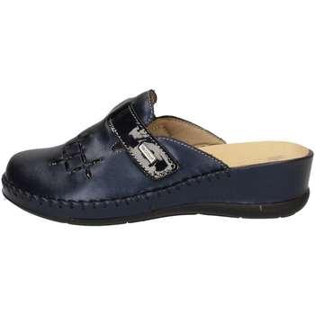 Schuhe Damen Hausschuhe Susimoda 6706/58 Blau