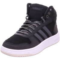 Schuhe Sneaker High Stiefel HOOPS 2.0 MID CBLACK/CARBON/FTWWHT