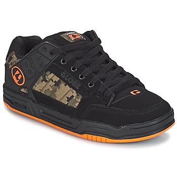 Schuhe Herren Sneaker Low Globe TILT Schwarz / Orange